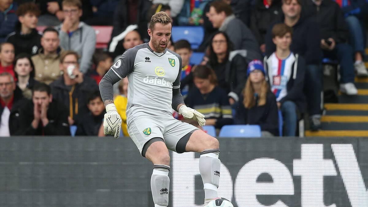 Ralf Fährmann spielte Anfang 2020 leihweise für Norwich City
