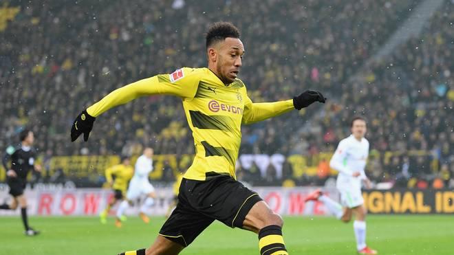 Pierre-Emerick Aubameyang spielte seit 2013 für Borussia Dortmund