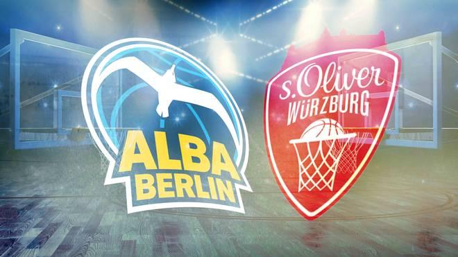 ALBA Berlin empfängt in der BBL s.Oliver Würzburg