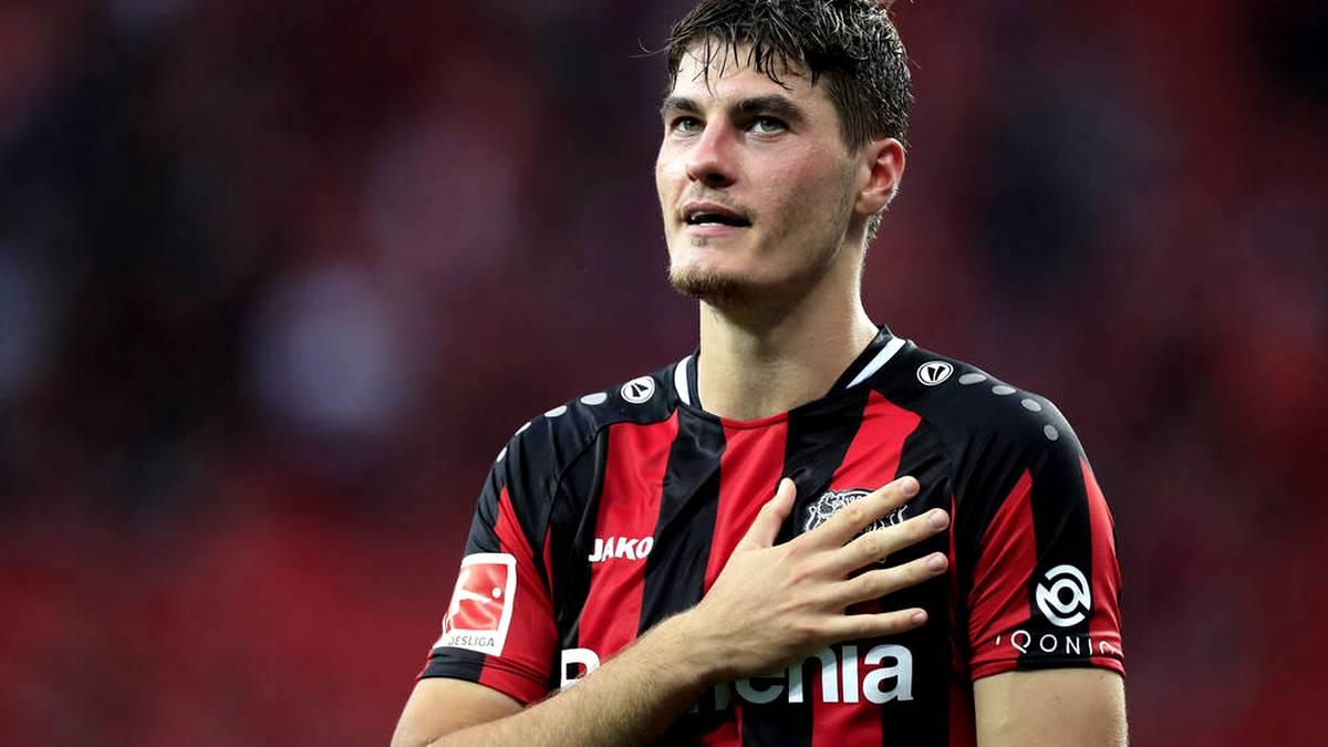 Patrik Schick fühlt sich wohl in Leverkusen