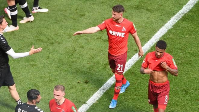 Der 1. FC Köln schwebt in akuter Abstiegsnot
