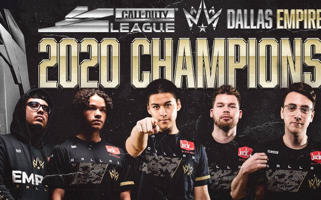 Dallas Empire sind Call of Duty League Champions 2020