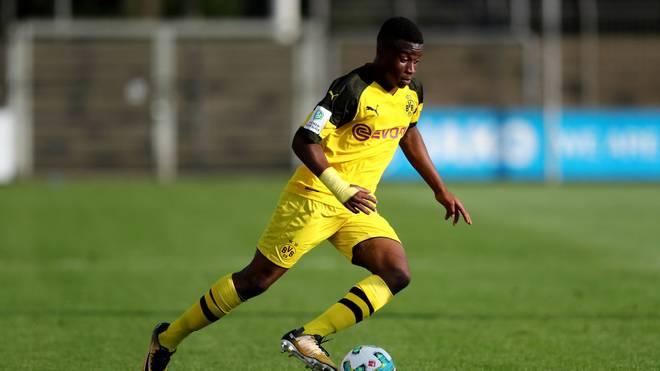 Youssoufa Moukoko hat mit der U19 des BVB in Prag verloren