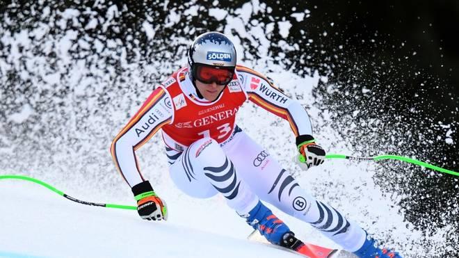 Thomas Dreßen steht wieder auf Alpin-Skiern