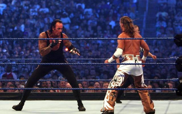 Steht gleich zweimal zur Wahl: die Duellserie Undertaker gegen Shawn Michaels