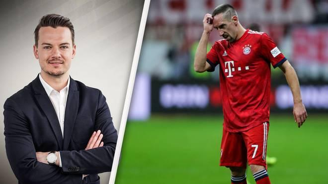 SPORT1-Chefreporter Florian Plettenberg (l.) kann Franck Riberys Schimpftirade auf Twitter nicht nachvollziehen
