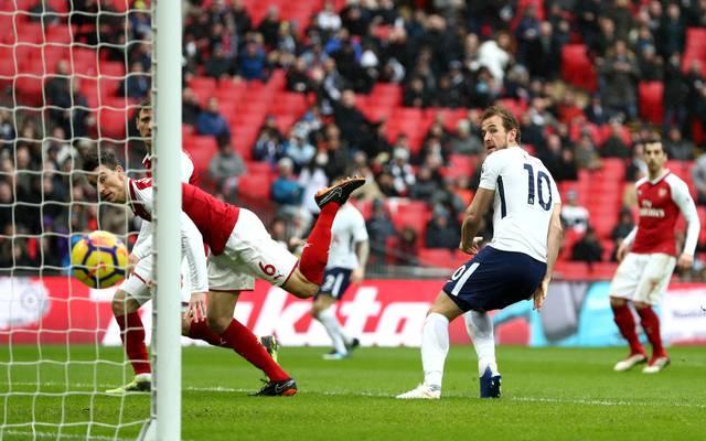 Harry Kane war am Wochenende der Matchwinner für Tottenham Hotspur gegen den FC Arsenal