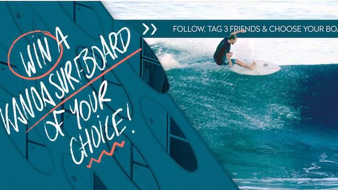 Gewinnspiel: Gewinne ein Kanoa Surfboard deiner Wahl!