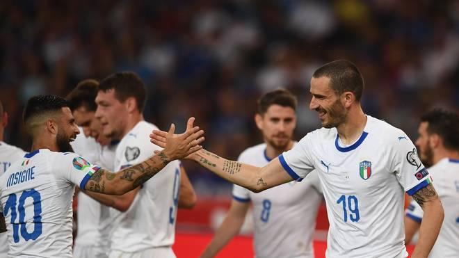 Greece v Italy - UEFA Euro 2020 Qualifier Mit drei Siegen ohne Gegentor ist Italien hervorragend in die EM-Qualifikation gestartet