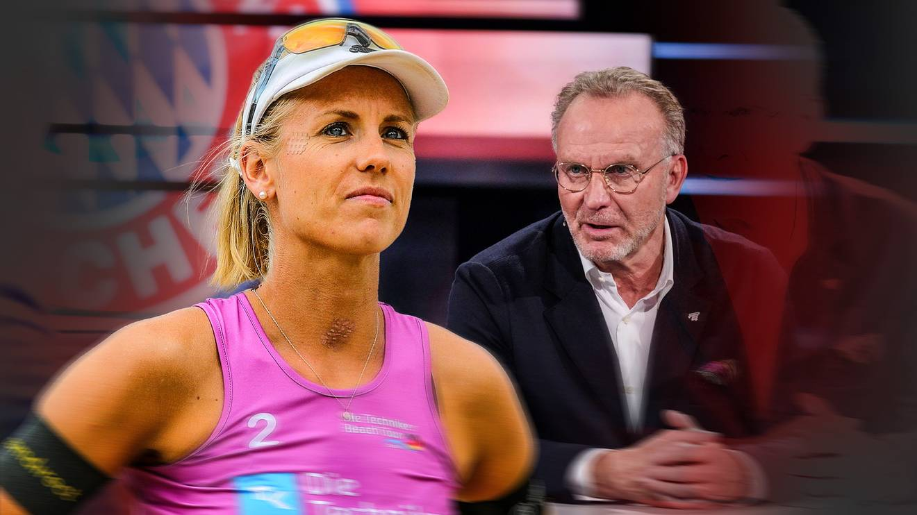 Beachvolleyballerin Karla Borger übt wegen Katar auch Kritik an Karl-Heinz Rummenigge vom FC Bayern