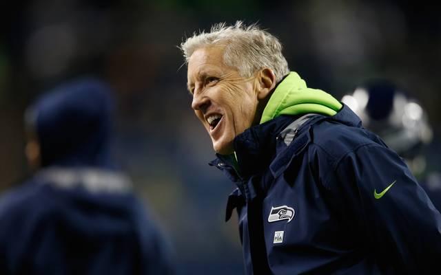 Kansas City Chiefs v Seattle Seahawks Nach den New York Jets (1994) sind die Seattle Seahawks die zweite Head Coach-Stelle von Pete Carroll in der NFL