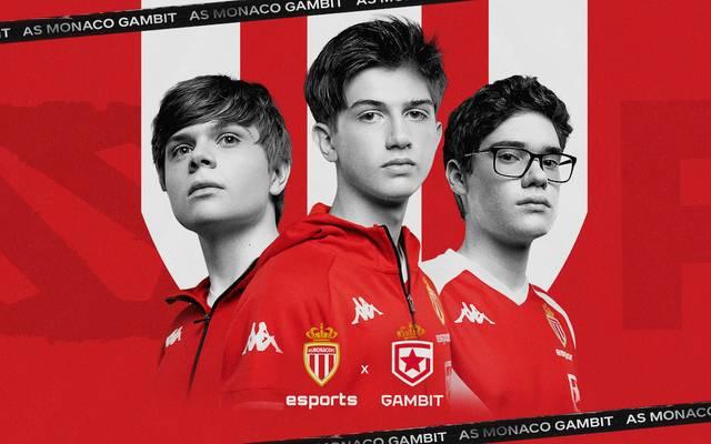 Die Partnerschaft zwischen AS Monaco und Gambit umfasst Dota2 und Fortnite