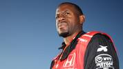 MONTEREY, CALIFORNIA - SEPTEMBER 22: Andre Iguodala of the Memphis Grizzlies takes a ride in the IndyCar two-seater car prior to the NTT IndyCar Firestone Grand Prix of Monterey at WeatherTech Raceway Laguna Seca on September 22, 2019 in Monterey, California. (Photo by Chris Graythen/Getty Images)