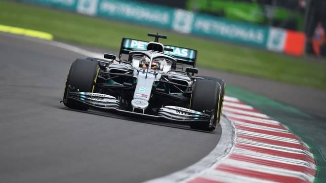 Lewis Hamilton kann in Mexiko zum sechsten mal den Titel gewinnen