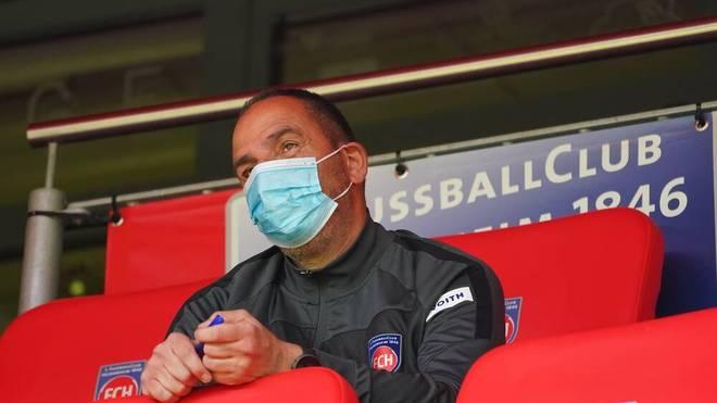 Frank Schmidt ist Cheftrainer des 1. FC Heidenheim