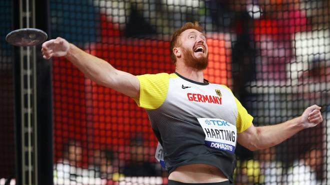 Christoph Harting muss in Doha bereits in der Qualifikation die Segel streichen