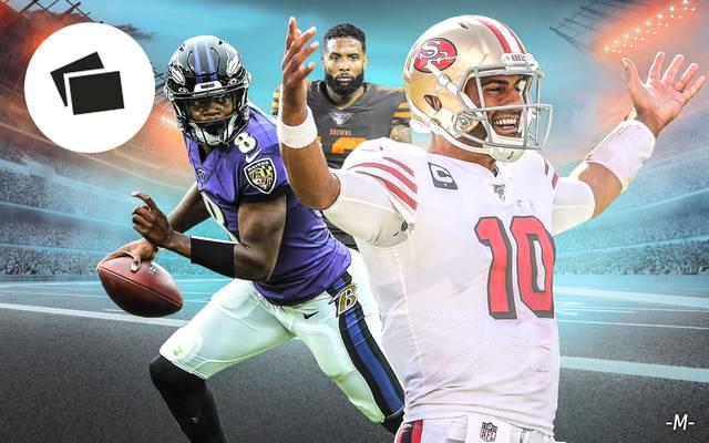 Nach den ersten neun Spieltagen gibt es in der NFL einige Überraschungen