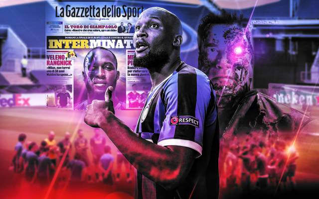 Romelu Lukaku ist der große Hoffnungsträger von Inter Mailand