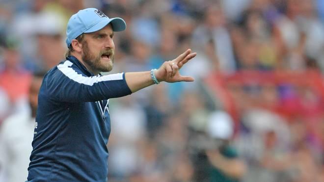 Daniel Bierofka war bis November 2019 Trainer beim TSV 1860 München