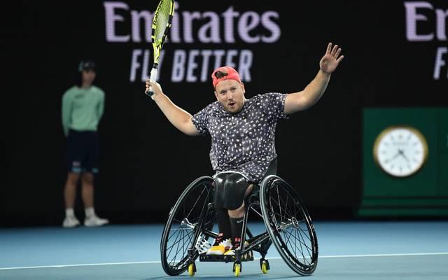Dylan Alcott beherrscht derzeit das Rollstuhltennis weltweit
