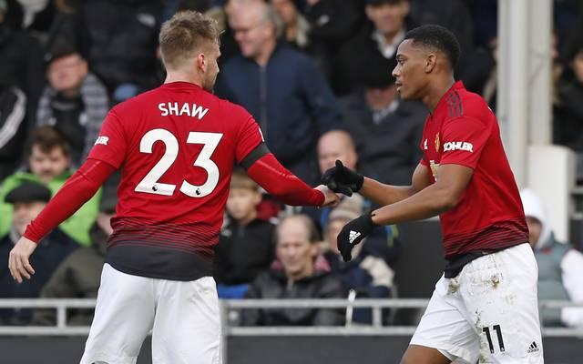 Premier League: Manchester United schlägt FC Fulham - Martial mit Traum-Tor