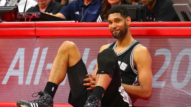 Tim Duncan wurde 1997 an Position eins von den San Antonio Spurs gedraftet
