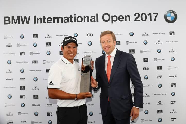 Der Argentinier Andres Romero ist der Sieger der 29. BMW International Open in München-Eichenried