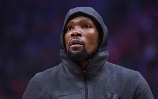 Kevin Durant spielt künftig für die Brooklyn Nets