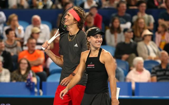 Alexander Zverev und Angelique Kerber wollen sich bei den US Open wieder auf Tennis konzentrieren