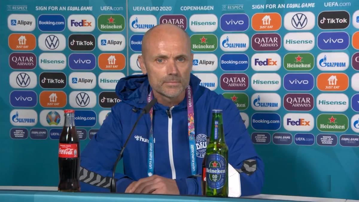 Dänemarks Christian Eriksen muss im EM-Spiel gegen Finnland auf dem Platz wiederbelebt werden. Teamarzt Morten Boesen schildert die dramatischen Momente.