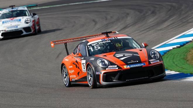 Larry ten Voorde holt auf dem Hockenheimring die Pole-Position