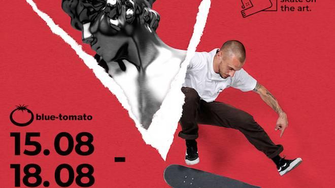 Blue Tomato macht Kunst: Street Art trifft auf Skateboarding