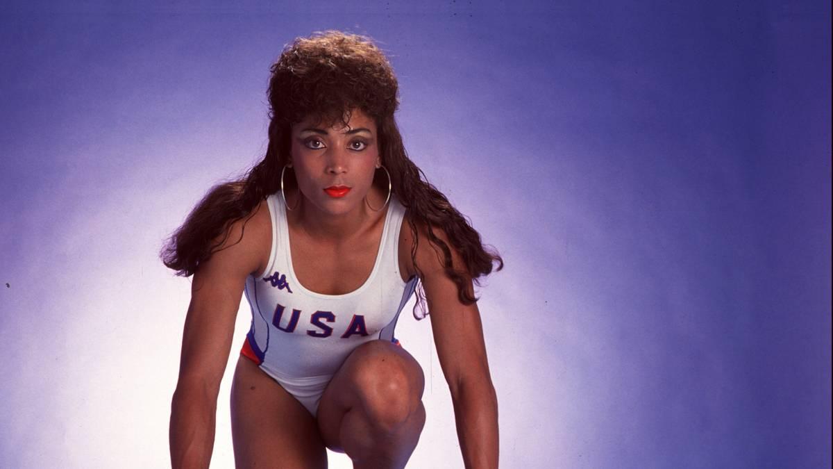 Florence Griffith-Joyner war der weibliche Star bei Olympia 1988