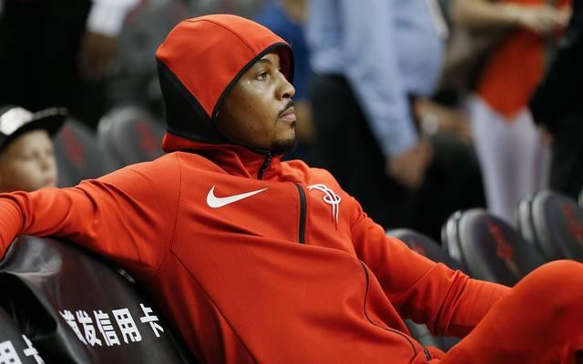 Carmelo Anthony kam für Houston nur zehn Mal zum Einsatz