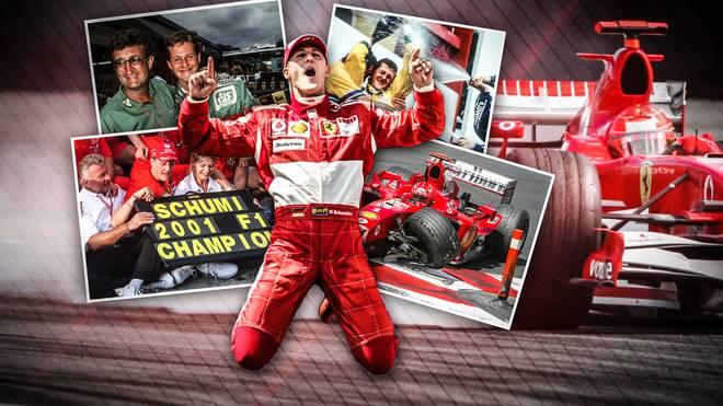 Formel-1-Legende Michael Schumacher feiert am 3. Januar Geburtstag