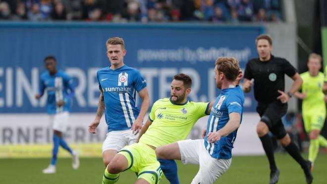 Duisburg und Rostock treffen sich zum absoluten Spitzenspiel