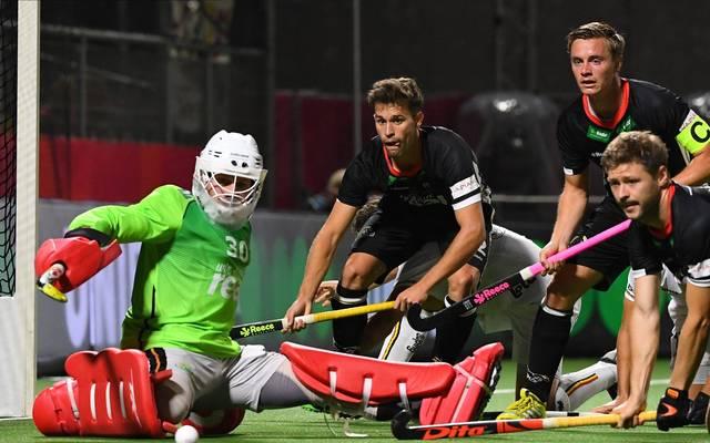 Die deutsche Hockey-Nationalmannschaft kassiert eine bittere Niederlage