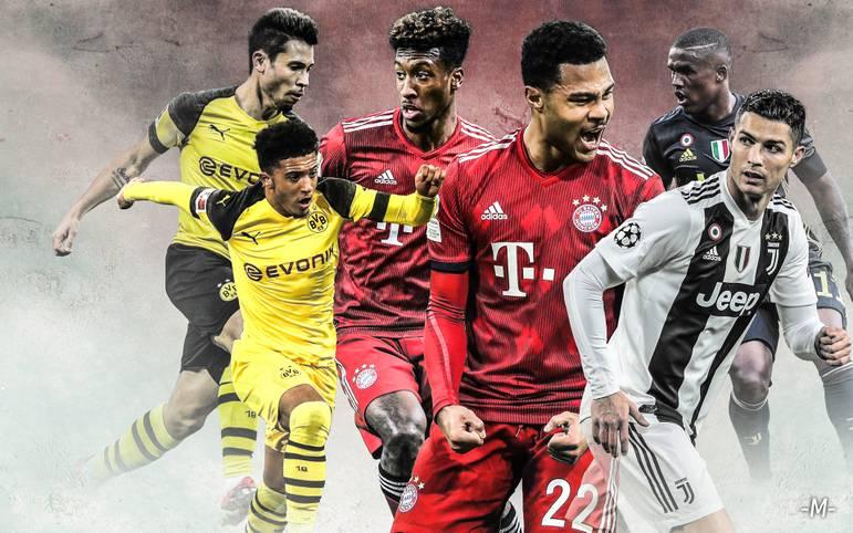 Mit Kingsley Coman und Serge Gnabry hat der FC Bayern ein neues Traum-Duo auf den Flügeln. Doch wie schneidet Bayerns Flügelzange im internationalen Vergleich ab? SPORT1 macht den Flügelzangen-Check