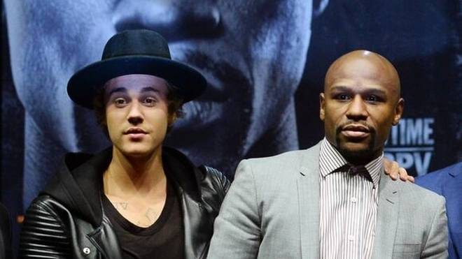 Justin Bieber begleitete schon Floyd Mayweather zum Ring