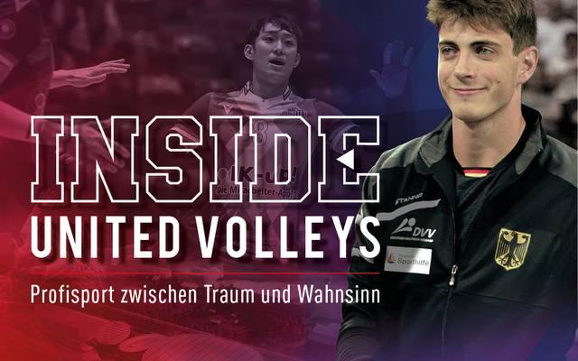 "SPORT1 zeigt die Doku ""Inside United Volleys"""