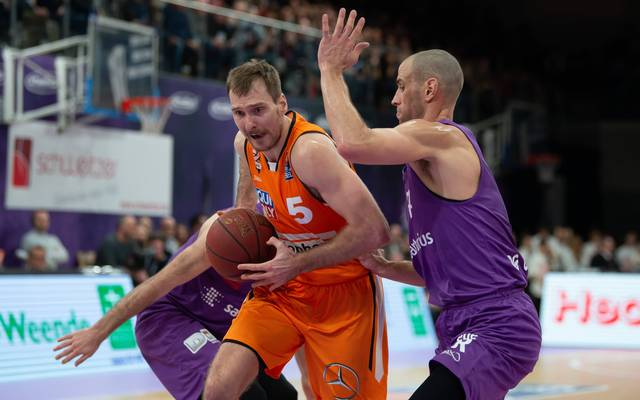 Zoran Dragic (l.) verlässt ratiopharm Ulm