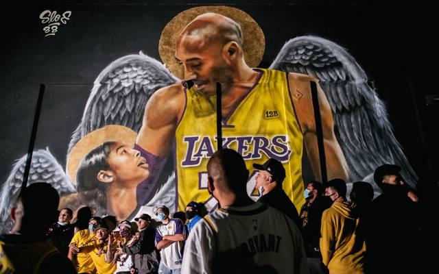 Kobe Bryant spielte während seiner gesamten Karriere für die Los Angeles Lakers