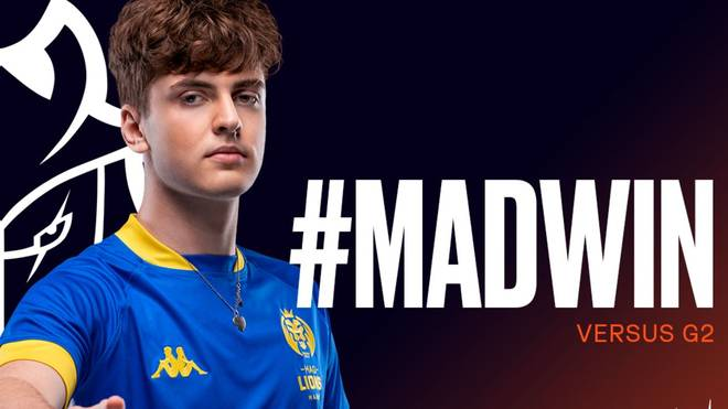 """Nach dem fünften Spieltag steht Matyáš """"Carzzy"""" Orság und seine MAD Lions nach wie vor an der Tabellenspitze der LEC"""