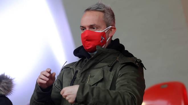 Alexander Wehrle ist Geschäftsführer des 1. FC Köln