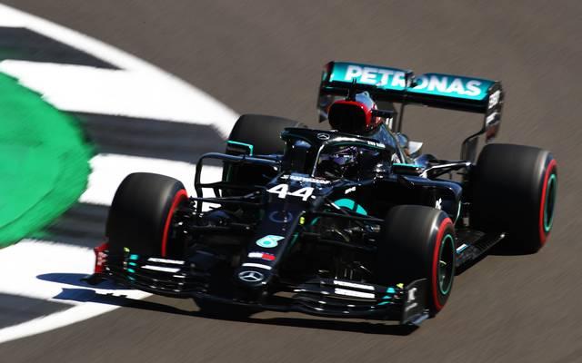 Auch beim Qualifying zum Jubiläums-GP in Silverstone ist Lewis Hamilton wieder der große Favorit auf die Pole