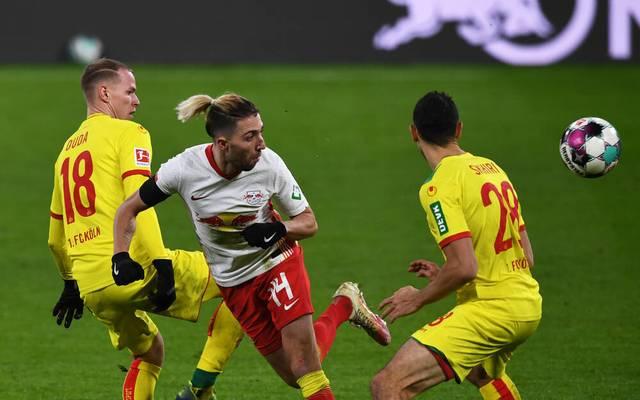 Kevin Kampl verpasste mit RB Leipzig gegen Köln einen Sieg
