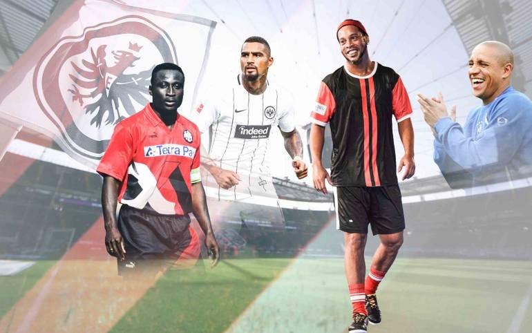 Mehr Legende geht nicht! Ronaldinho gibt sich am Samstag um 14.30 Uhr LIVE auf SPORT1 in Frankfurt die Ehre. Die ADLER ALL STARS treffen auf RONALDINHO & FRIENDS. SPORT1 zeigt alle Stars