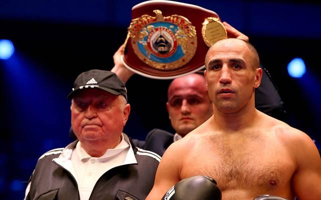 Box-Trainer Ulli Wegner (l.) machte unter anderem Arthur Abraham zum Weltmeister