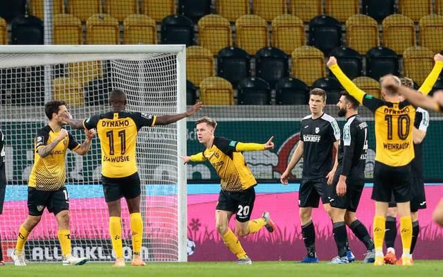 Dynamo Dresden ist Tabellenführer in der Dritten Liga