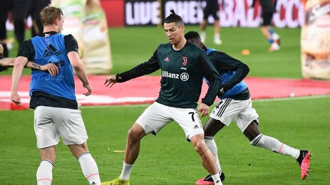 Cristiano Ronaldo ist bei Juventus Turin wieder im Training